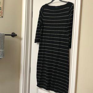 Ralph Lauren boatneck sweater dress
